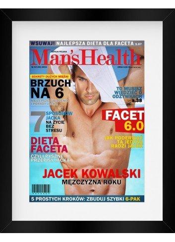 Plakat personalizowany Man's Health
