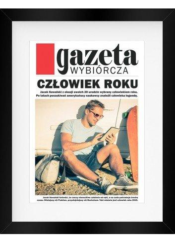 Plakat personalizowany Gazeta Wybiórcza