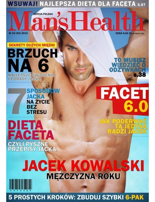 Plakat Man's Health