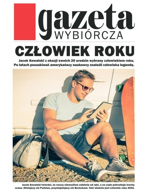 Plakat Gazeta Wybiórcza