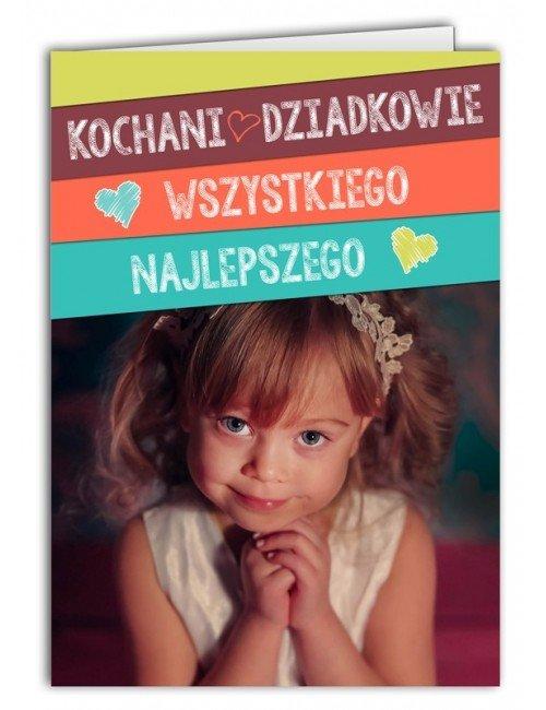 Kartka Kochani Dziadkowie