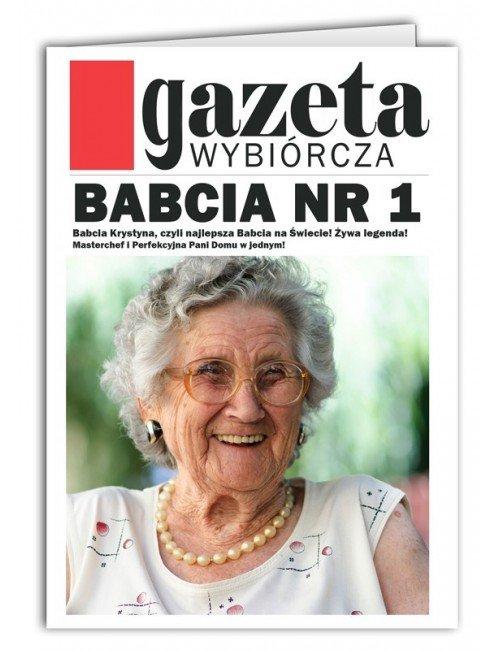 Kartka Gazeta dla Babci