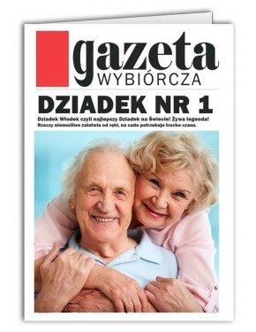 Kartka Gazeta dla Dziadka