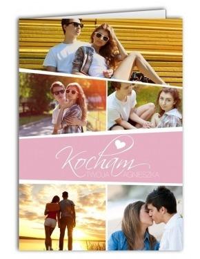 kartka na dzień zakochanych