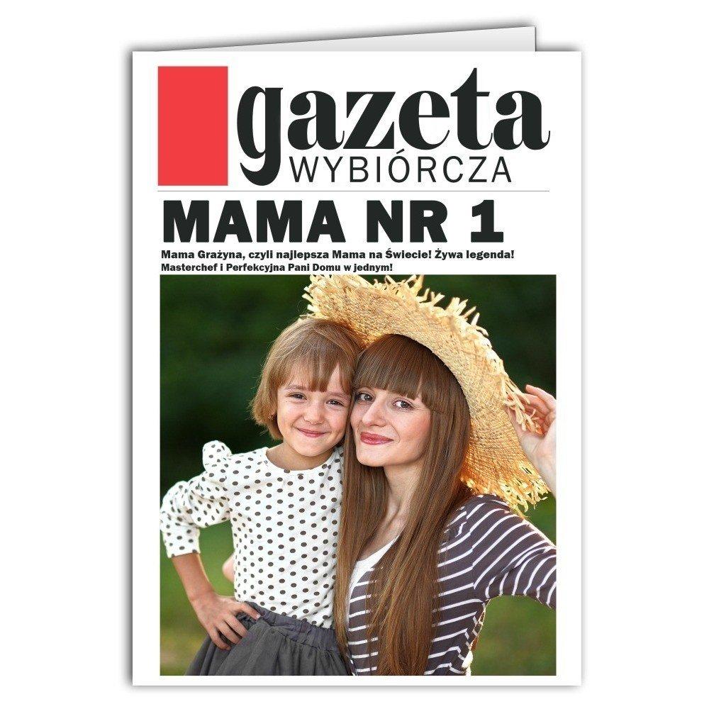 Kartka Mama nr 1