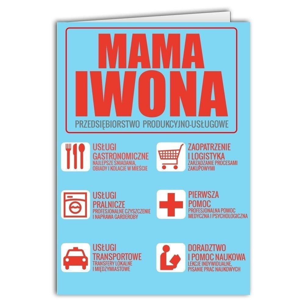 Kartka Firma-Mama