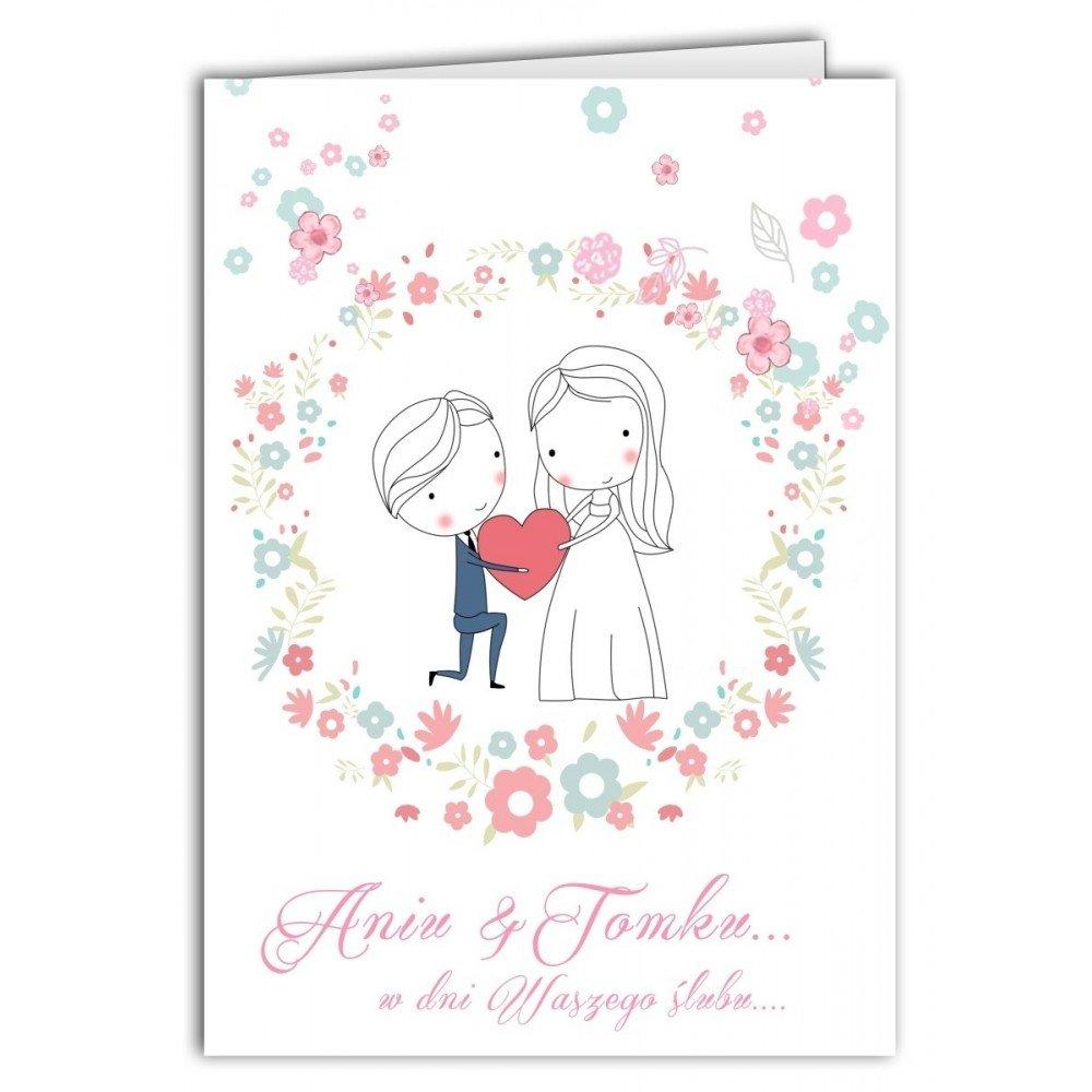kartka ślubne