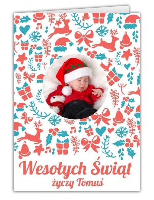 Kartka Świąteczny Prezent