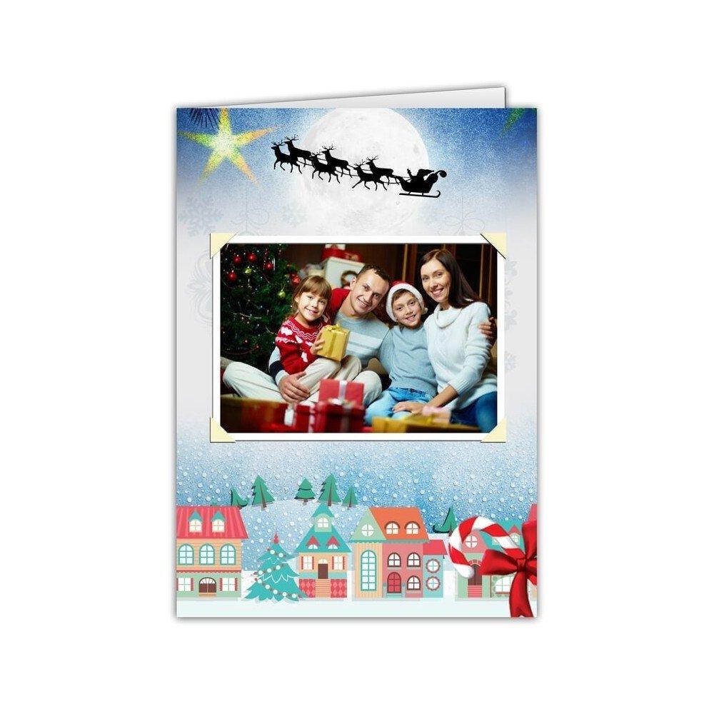 Kartka bajka świąteczna