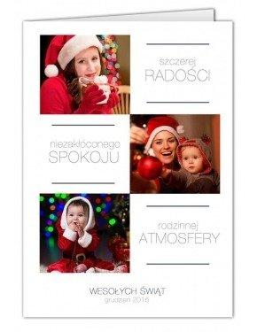 Kartka Świąteczny Minimal