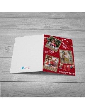 Kartka Świąteczne Polaroidy