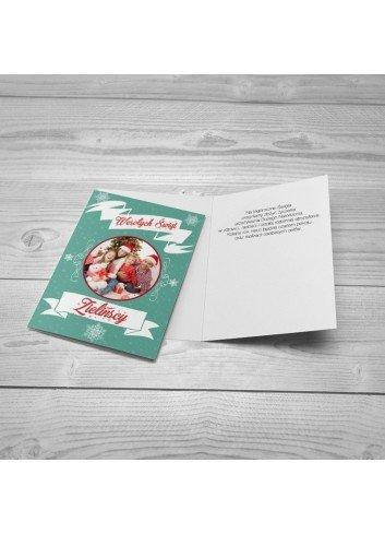 Kartka Świąteczne Retro