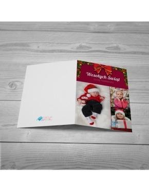 Kartka Świąteczna Kokarda