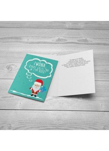 Kartka Grzeczny Mikołaj