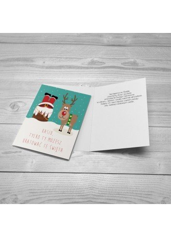 Kartka Świąteczny Bohater