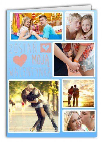 Kartka Kolaż 6 zdjęć
