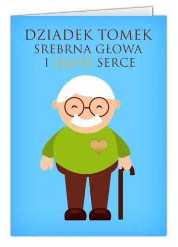 Kartka Serce dla Babci