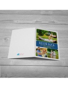 Kartka Niebieski Box
