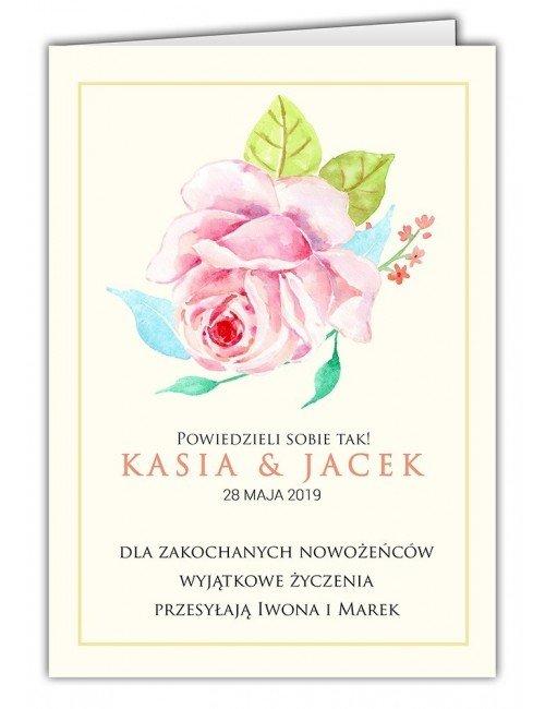 Kartka Róża