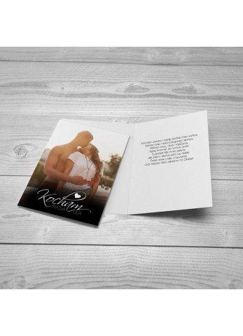 Kartka Miłosny Autograf
