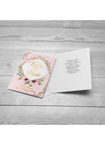 Kartka Pastelowy Róż