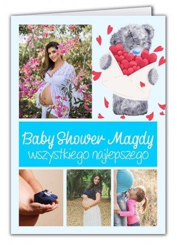 Kartka na Baby Shower