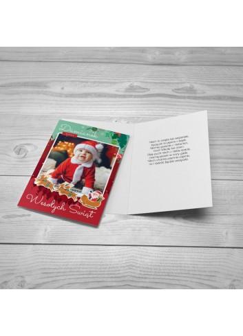 Kartka Świąteczna Podróż