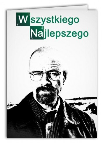 Kartka Breaking Bad