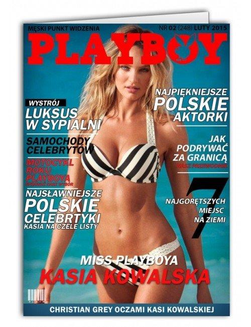 Kartka Playboy