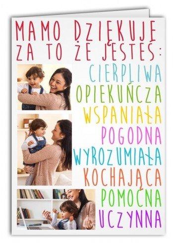 Kartka Opis Mamy