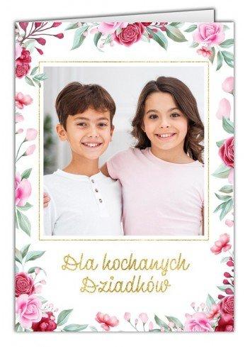 Kartka Laurka dla Dziadków