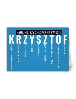 Kartka Krzysztof