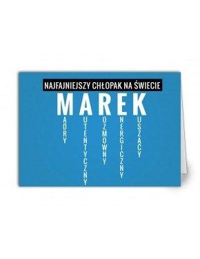 Kartka Marek