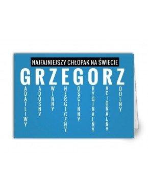 Kartka Grzegorz