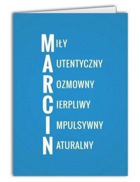 Kartka Marcin