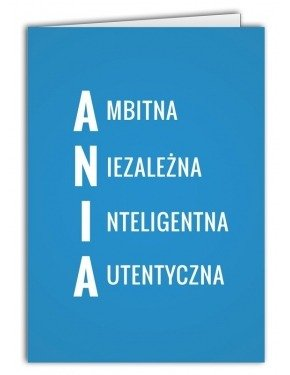 Kartka Ania