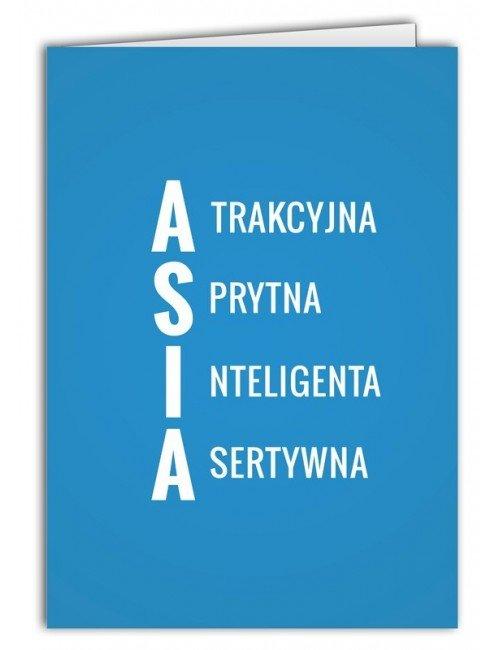 Kartka Asia