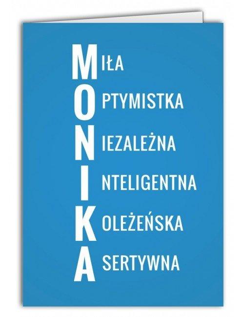 Kartka Monika