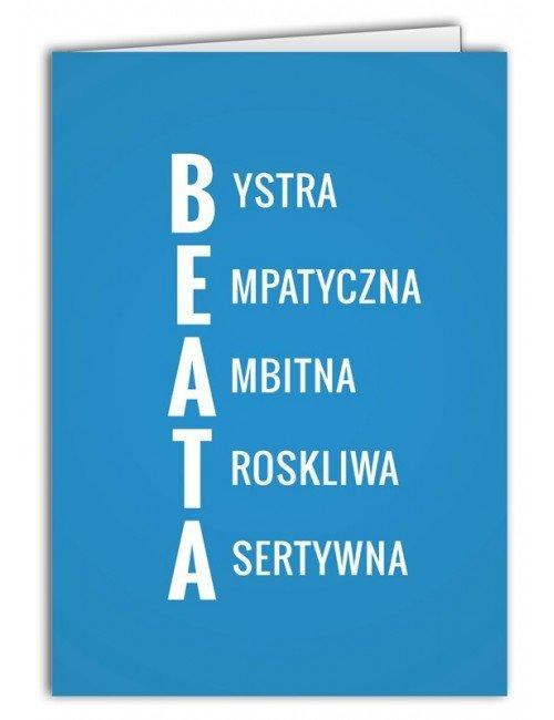 Kartka Beata