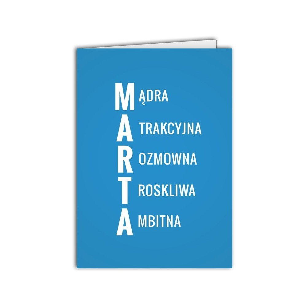 Kartka Marta