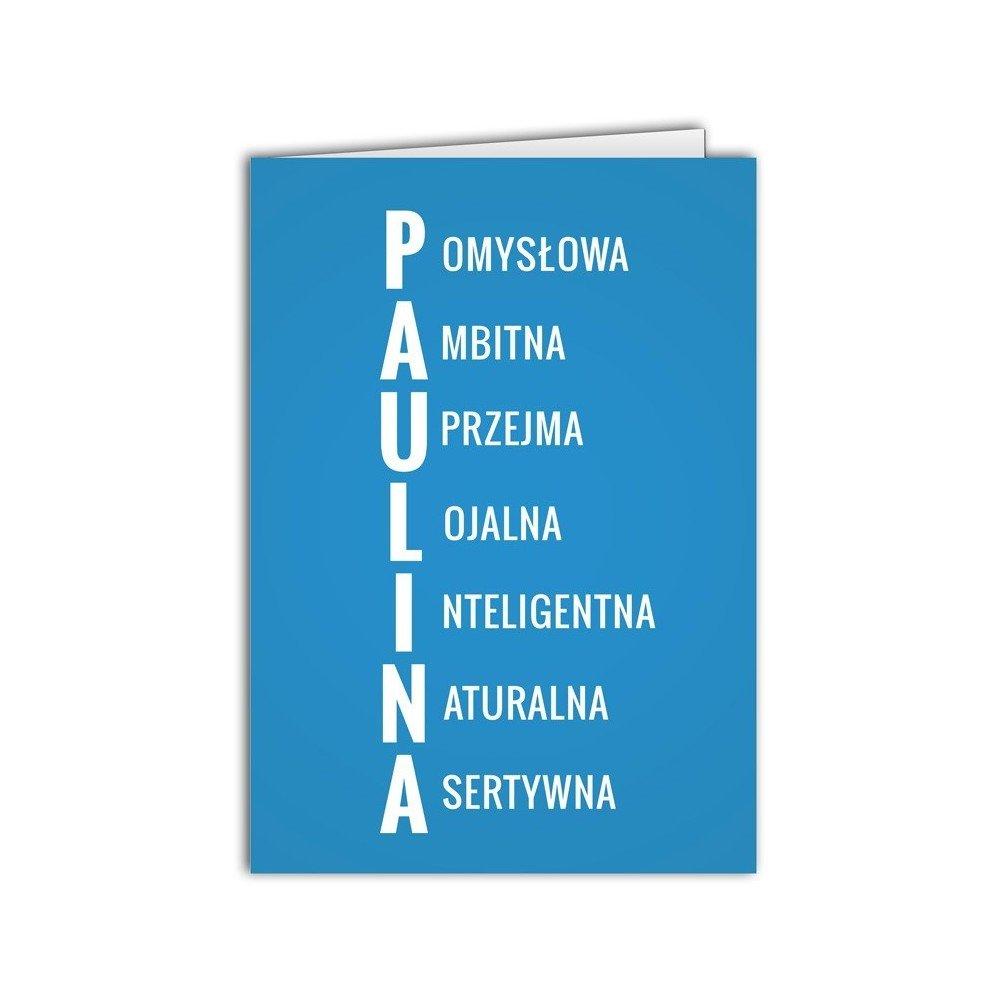 Kartka Paulina
