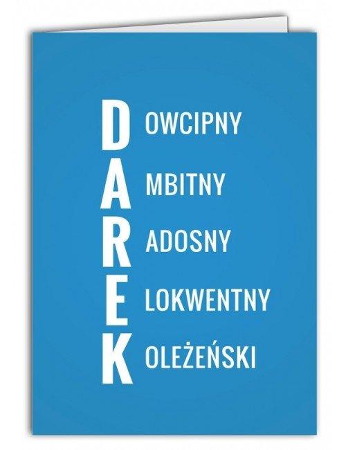 Kartka Darek