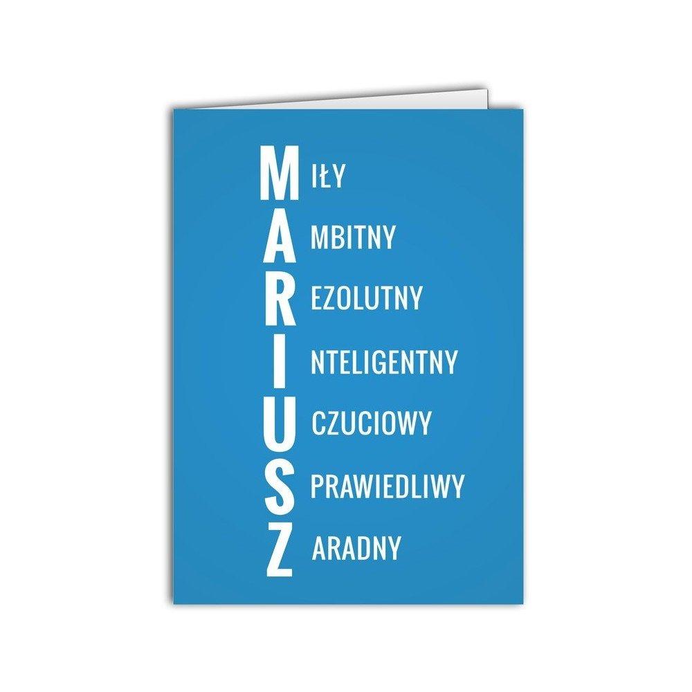 Kartka Mariusz