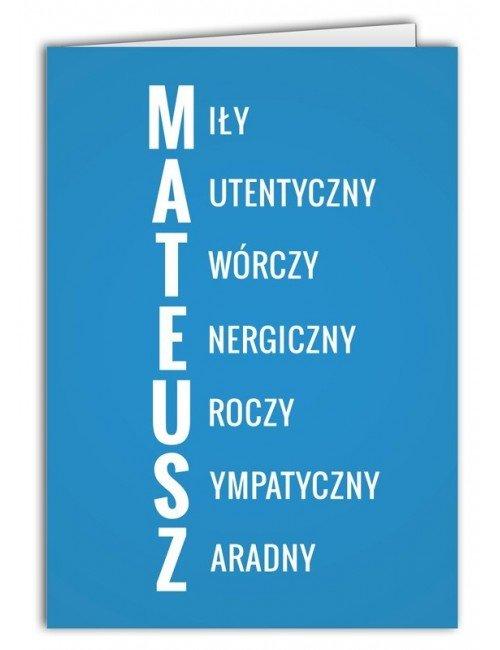 Kartka Mateusz