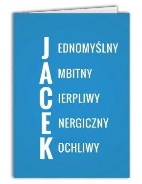 Kartka Jacek