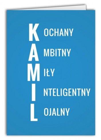 Kartka Kamil