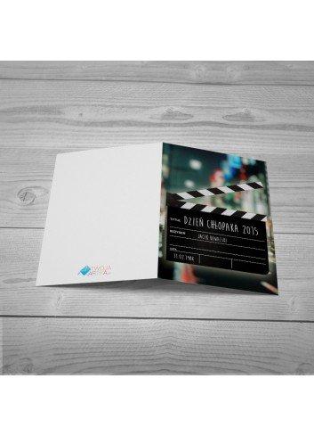 Kartka Klaps Filmowy