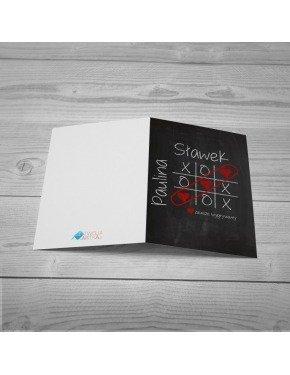 Kartka Kółko i Krzyżyk