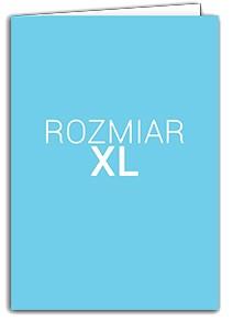 Rozmiar XL - 29cm x 21cm